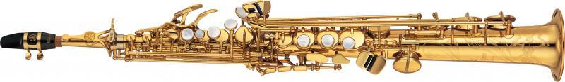 Saxophone soprano s rie custom ex yamaha yss875ex l for Yamaha custom ex soprano