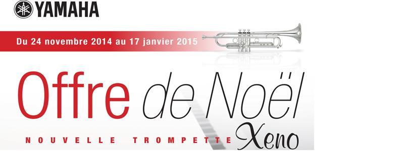 Offre de Noël trompette Yamaha XENO