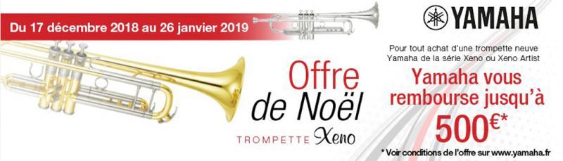 Offre de Noël Trompette XENO